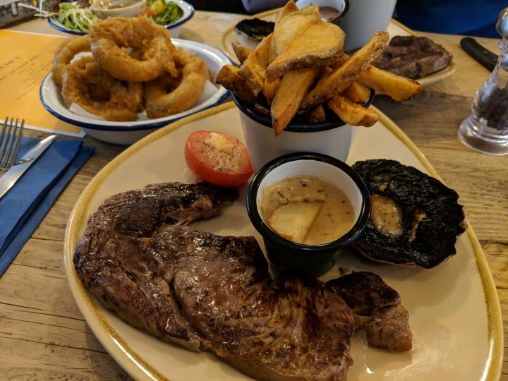 Hope & Union steak night